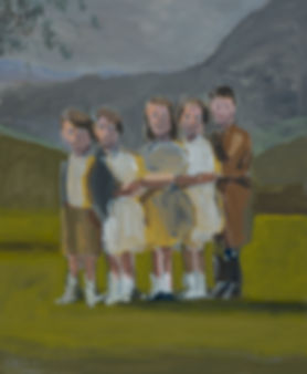 David Storey - Children on a Hillside.jp