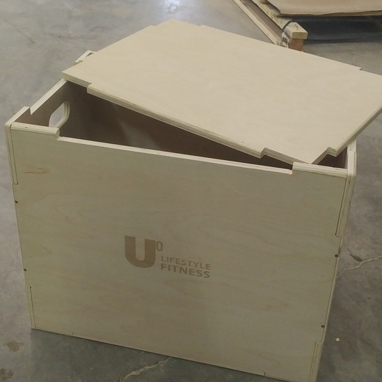 Custom CNC Cut Wood Box