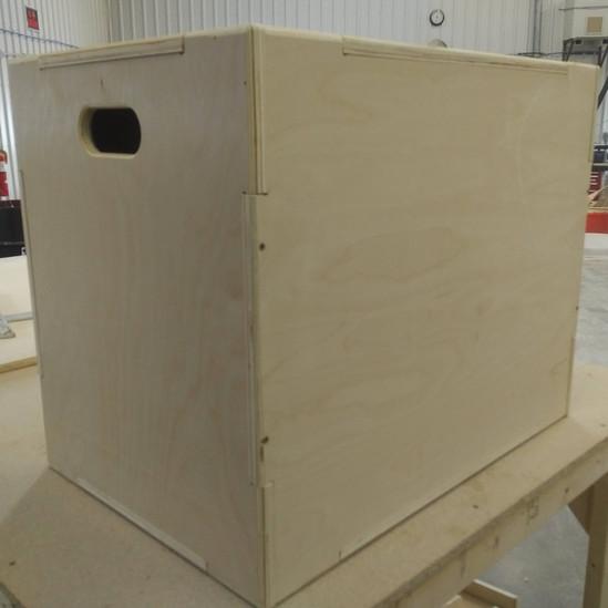 Custom CNC Cut Fitness Box