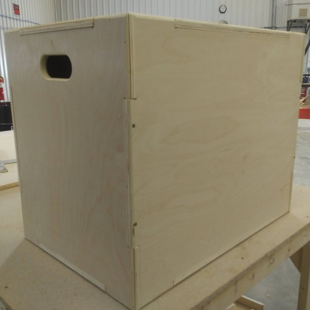 Custom CNC Cut Fitness Box