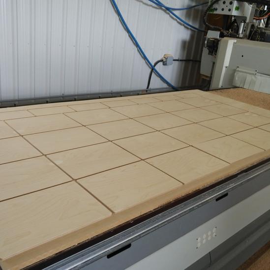 CNC Squared Off Wood