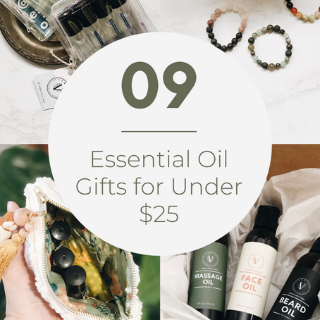 Essential Oil Gifts for Under $25