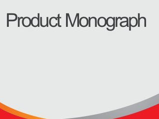 Expertise is Making Product Monographs