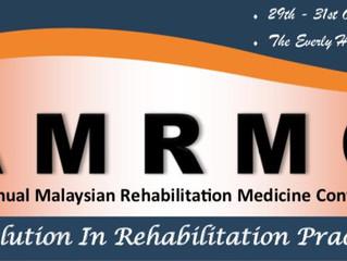 Collaborating in Annual Malaysian Rehabilitation Medicine Conference, Malaysia.