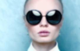 Round sun glasses