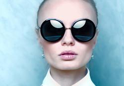 occhiali da sole rotondi