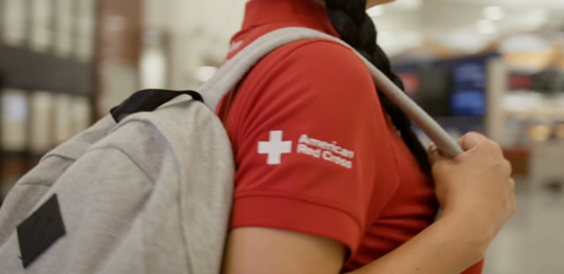 Delta Airlines CSR Red Cross