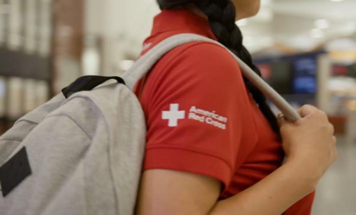Delta Airlines CSR Red Cross