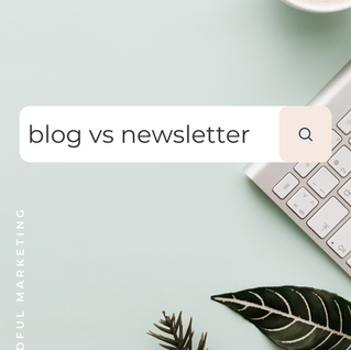 Blog vs. Newsletter: which should my small business focus on?