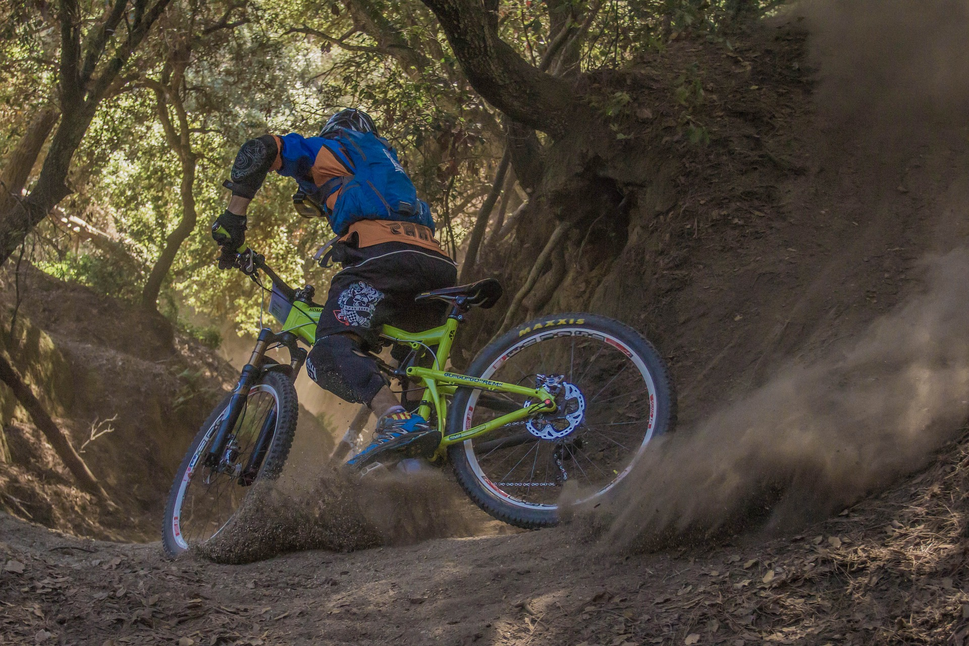 There are numerous trails that descend the mountain providing thrills for any mountain biker.