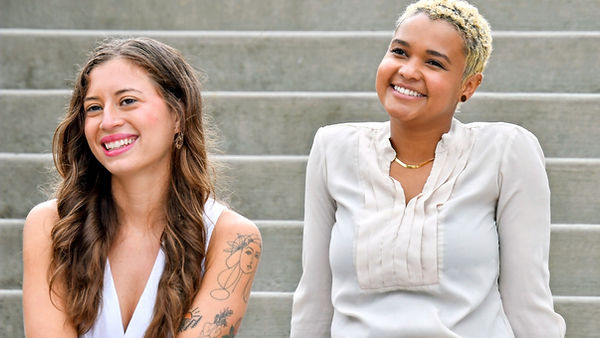 Hannah & Adriana, Owners and Founders of Our Mindful Marketing