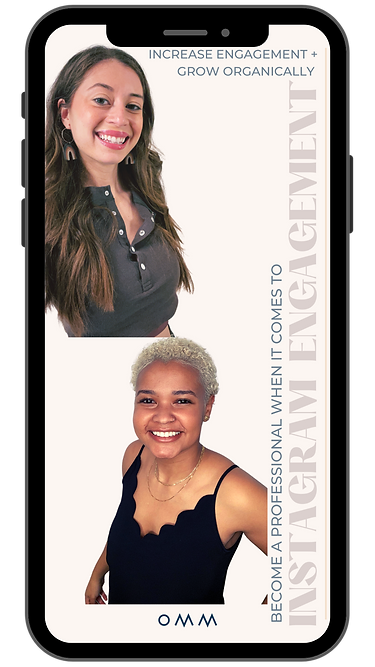Hannah & Adriana, Owners & Founders of Our Mindful Marketing
