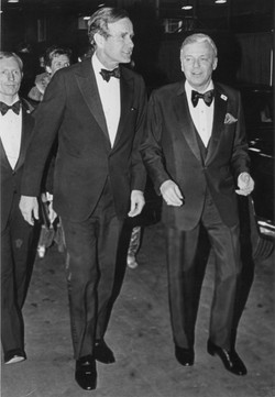 Bush and Sinatra by Valerie Brown