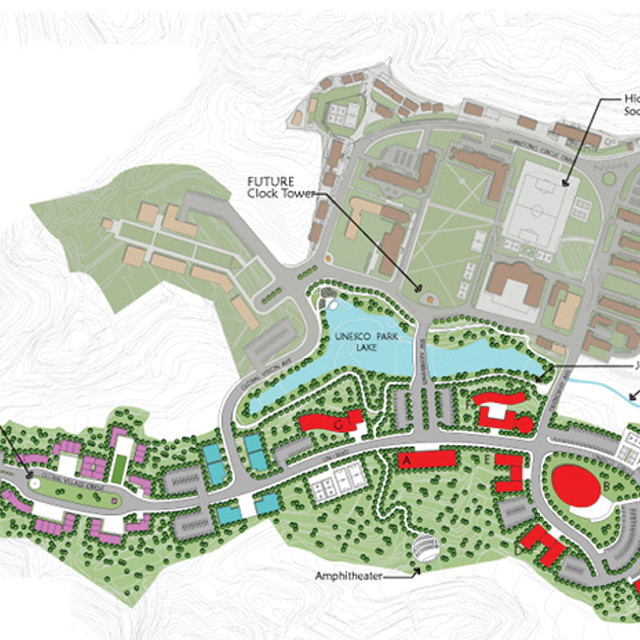 MASTER PLAN FOR UNITED NATIONS UNESCO CAMPUS