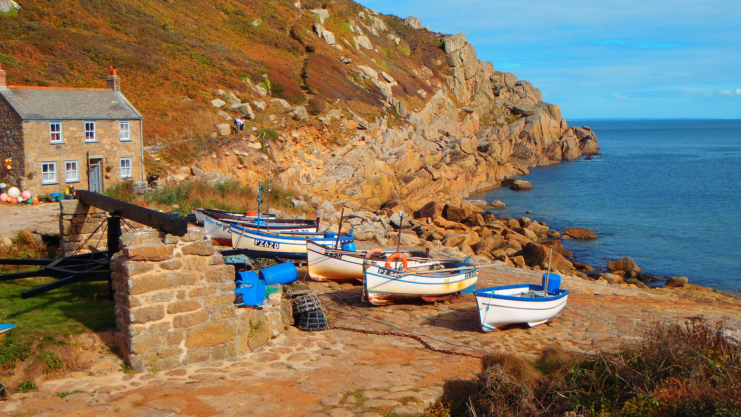 Fishing cove Cornwall