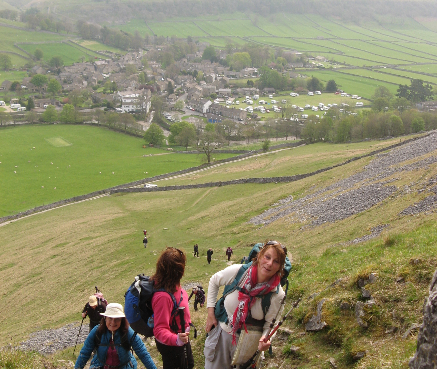 ascent above Kettlewell