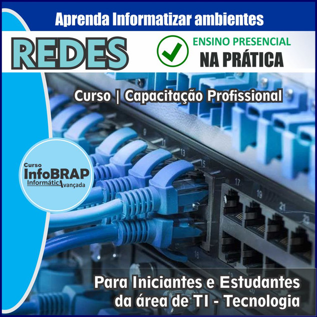 Curso de Redes Cabeamento Estruturado e Configuração de Servidor Windows
