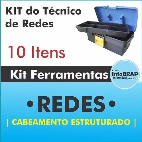 Kit Ferramenta De Rede Cabeamento Estruturado Infobrap