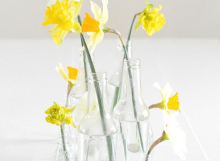 Quick + Easy Easter Centerpiece