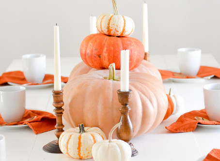Pile O' Pumpkins Centerpiece