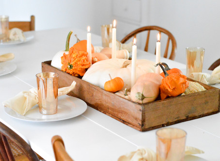 Pumpkin Box Centerpiece
