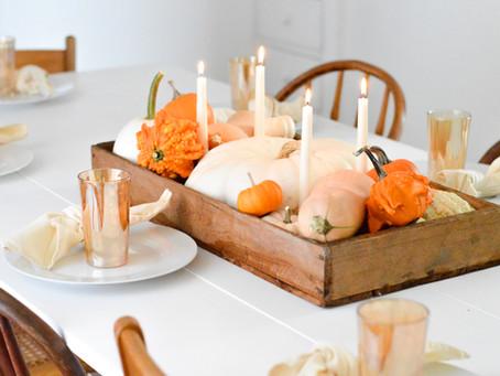 Pumpkin Box Centerpiece