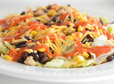 Healthier Doritos Taco Salad