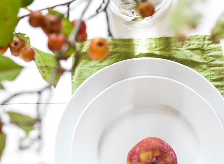 Apple Harvest Tablescape
