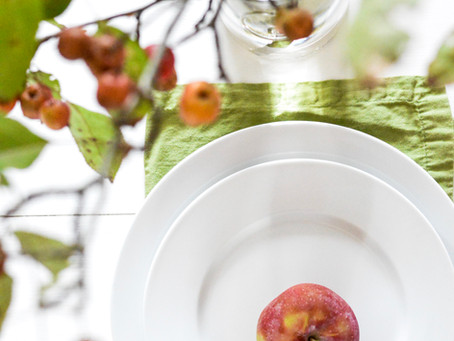 Apple Harvest Tablescape