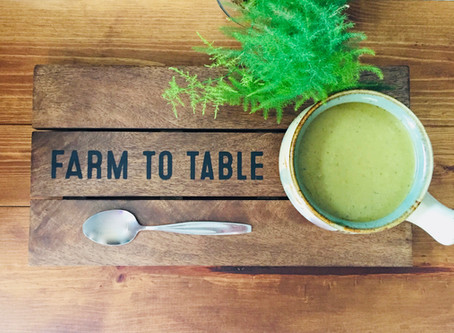 Spring Ahead with an Asparagus Soup!