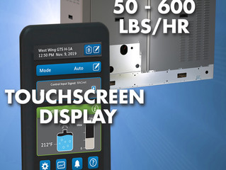 LX Series Humidifier: Full Range of Capacities & New Touchscreen!