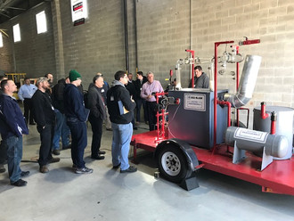 Blankin's Commercial Hydronics University a Great Success!