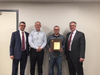 Chesapeake Wins Evapco Award
