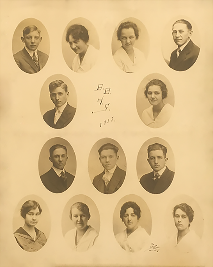 First Liberty Union Class of 1917