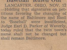 Baseball, OH (Part 13)
