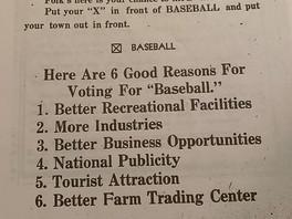 Baseball, Ohio (Part 12)