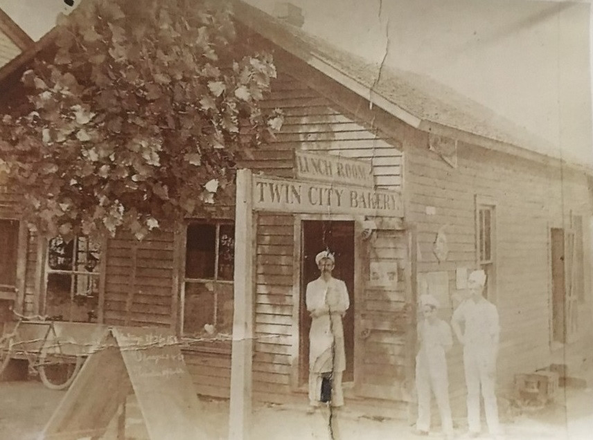 Charles Thomas' first bakery