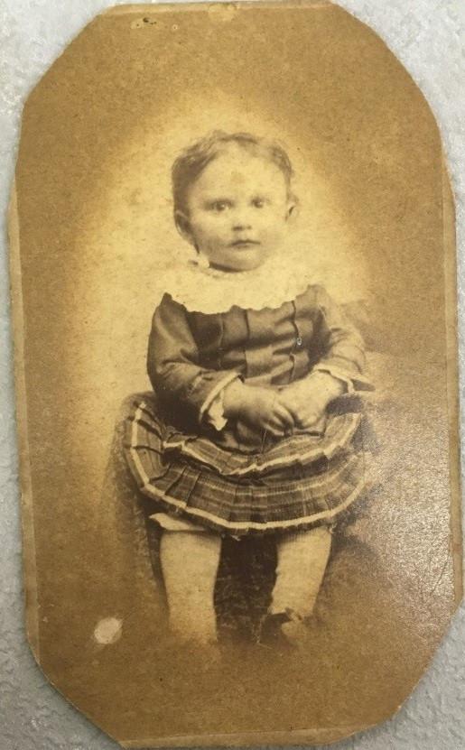 Figure 4. Photo of Grace May Thomen Kistler, ca. 1885