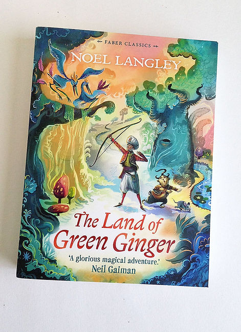 The Land of Green Ginger Cover - Faber &