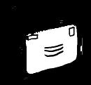 Flying envelope illustration