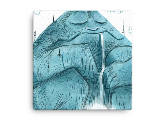 MTN Man Canvas Print
