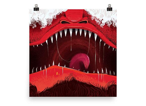 Edgar 'Monster Mouth' Print