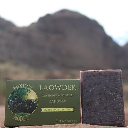 Laowder Bar Soap