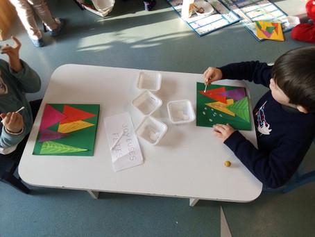 Jeux de société et arts visuels en maternelle