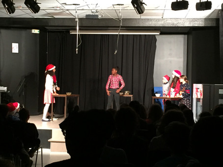 Spectacle au collège