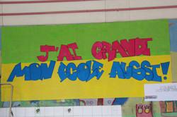Le slogan de l'école