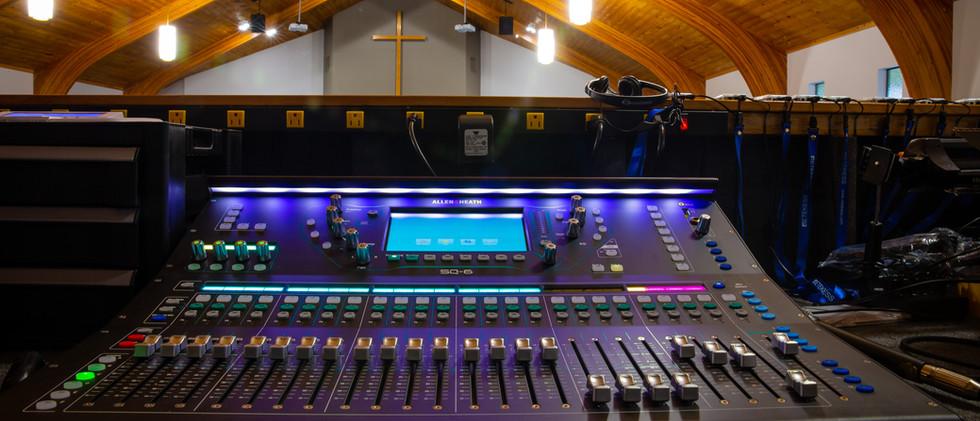 New Allen & Heath Digital Sound Board