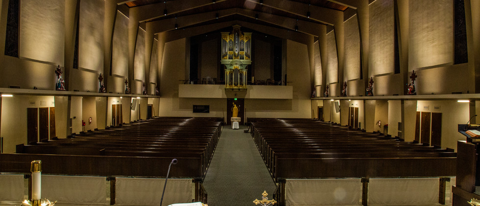 St. Alphonsus, View from Altar