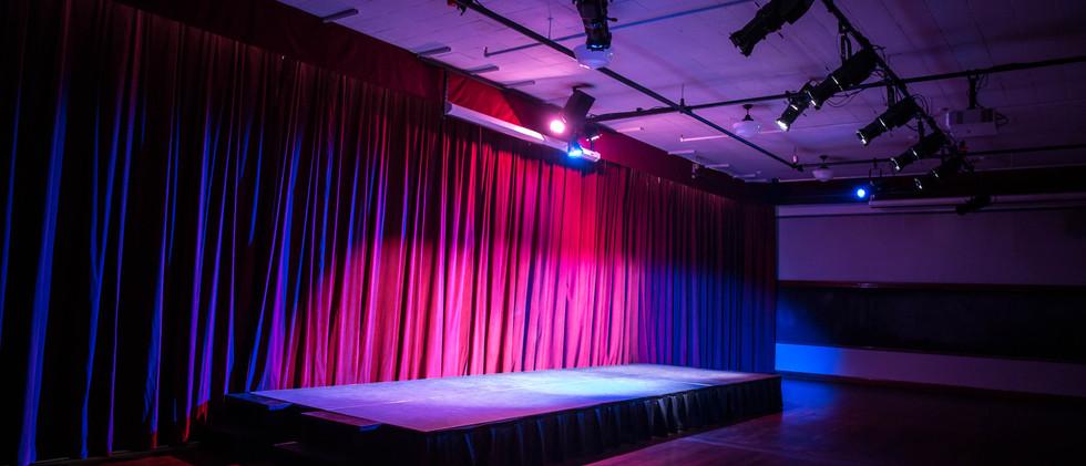 Auditorium at UHeights - Curtains Closed