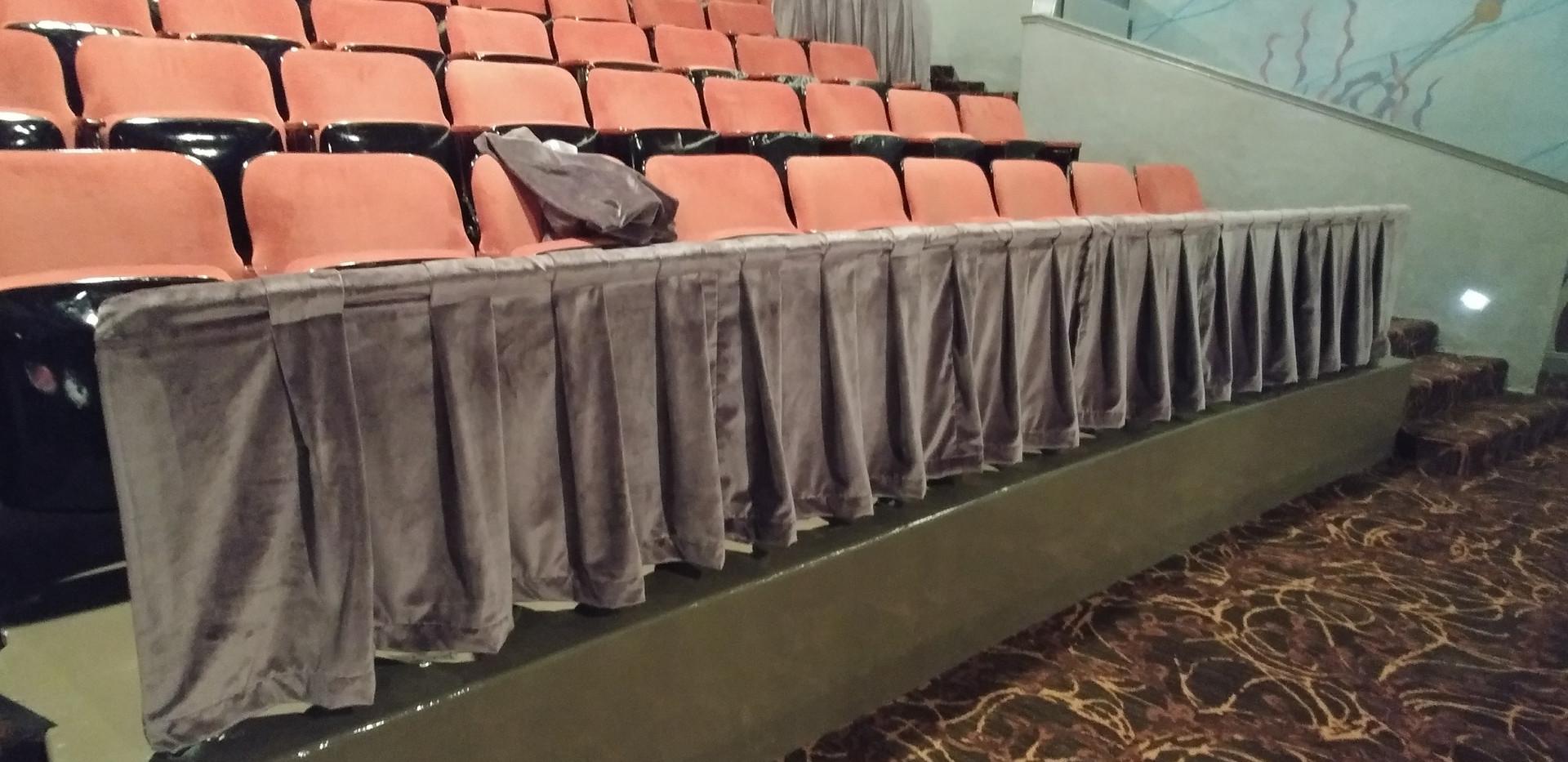 Admiral Theatre Custom Railing Covers